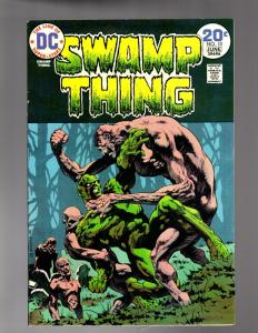 SWAMP THING 10 FINE-VERY FINE LAST WRIGHTSON ISSUES COMICS BOOK