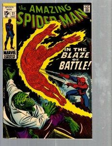 Amazing Spider-Man # 77 VF/NM Marvel Comic Book MJ Vulture Goblin Scorpion TJ1