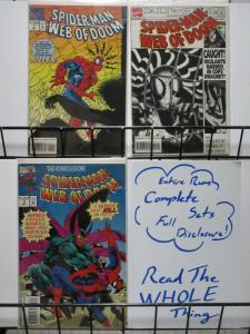 SPIDERMAN WEB OF DOOM (1994) 1-3