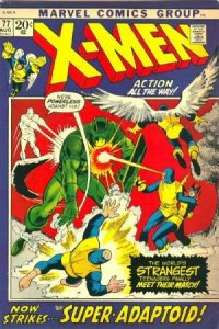 Uncanny X-Men #77 (ungraded) stock photo / SCM