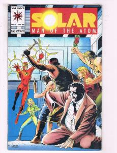 Solar Man Of The Atom #26 VF Valiant Comics Comic Book DE19