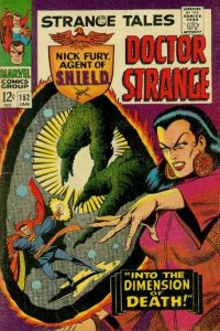 Strange Tales (1951 series) #152, Fine (Stock photo)