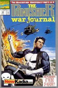 Punisher War Journal (1988 series) #32, VF+ (Stock photo)