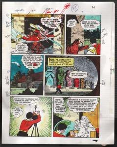 Hand Painted Color Guide-Capt Marvel-Shazam-C35-1975-DC-page 22-Mr Tawney-VG