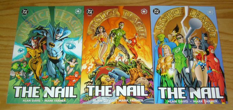 JLA: the Nail #1-3 VF/NM complete series - alan davis justice league ...