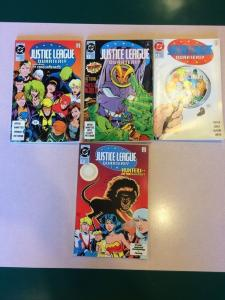 Justice League Quarterly 1 2 3 11 lot run set