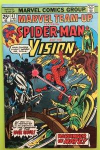 MARVEL TEAM-UP 42 SPIDER-MAN & THE VISION 1976