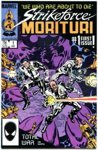 STRIKEFORCE MORITURI  #1 2 3 4 5 6 7 8 9 10 11 12 13 14-24, VF/NM, 1986, 24 iss