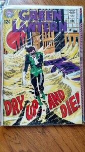 GREEN LANTERN #65 (DC, 1968) VG/FN