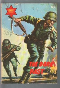 Conflict Library #403 1970's The Dark Past-WWII stories-printed in Spain-FN