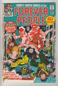 Forever People #4 (Sep-71) NM- High-Grade Big Bear, Beautiful Dreamer, Serifi...