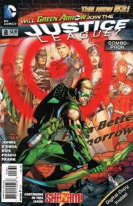 Justice League (2nd Series) #8C VF/NM; DC   save on shipping - details inside