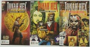 Jonah Hex: Shadows West #1-3 VF/NM complete series - joe r. lansdale  tim truman