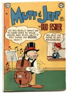 Mutt and Jeff #54 1951- BUD FISHER- Golden Age VG-