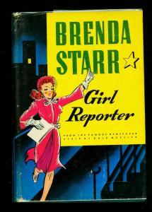 Brenda Starr Girl Reporter Hardcover w/ dust jacket Whitman #2383