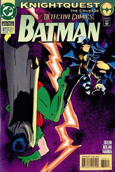 Detective Comics (1937 series) #672, NM- (Stock photo)