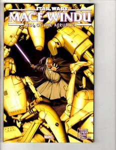 Star Wars Mace Windu Jedi Of The Republic Marvel Comics TPB Graphic Novel J301