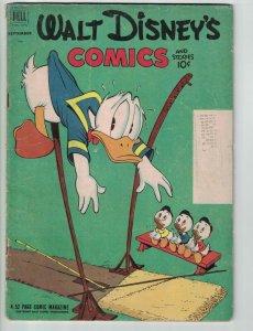 Walt Disney's Comics and Stories #144 subscription variant - donald duck - Dell
