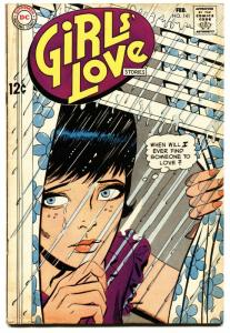 GIRLS' LOVE STORIES #141-DC ROMANCE-EMOTIONAL COVER vg