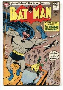 BATMAN #162 1964-comic book-Batman Creature-DC- VG
