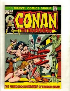 Lot Of 5 Conan The Barbarian Marvel Comic Books # 25 26 27 28 29 Red Sonja RS1