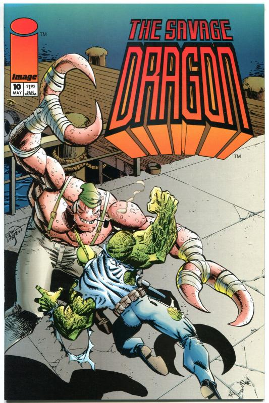 SAVAGE DRAGON #7 8 9 10 11 12-14, VF+ 1993, Erik Larsen, 8 issues, more in store