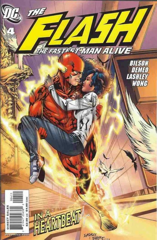 FLASH: THE FASTEST MAN ALIVE (2006 DC) #4 NM- A96018