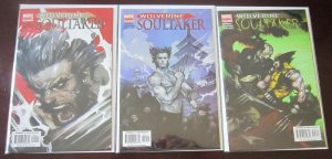 Wolverine Soultaker Comics Set # 1 - 5 - 8.0 VF - 2005