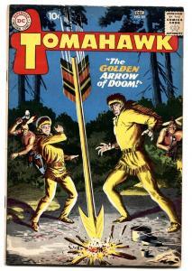 Tomahawk #65 1959-DC-greytone cover-Golden Arrow of Doom-Indians-VG+