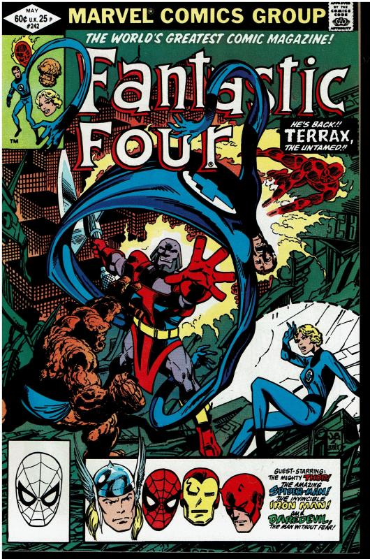 Fantastic Four #242, 9.0 or Better