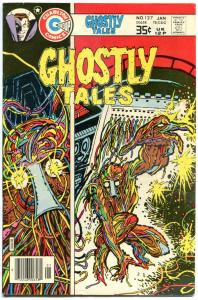 GHOSTLY TALES #127, FN/VF, Sutton, Wire Man, 1966 1978, more Charlton in store