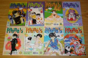 Ranma 1/2 part 4 #1-11 VF/NM complete series - viz manga - rumiko takahashi set