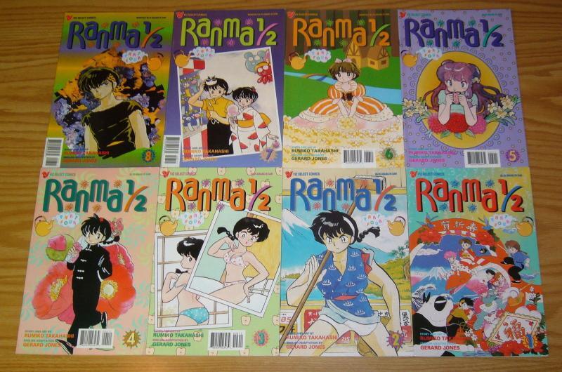 Ranma 1/2 part 4 #1-11 VF/NM complete series - viz manga - rumiko takahashi set