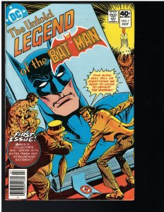 Untold Legend of the Batman #1 (DC, 1980)