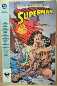 The Death of Superman #1 (1993) TPB