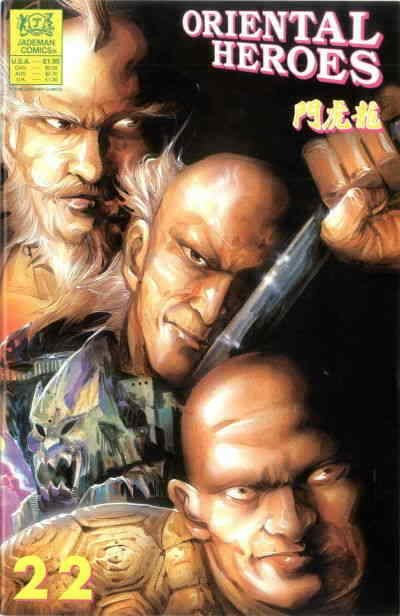 Oriental Heroes #22 VF/NM; Jademan | save on shipping - details inside