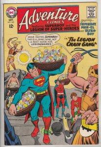 Adventure Comics #360 (Sep-67) VF+ Mid-High-Grade Legion of Super-Heroes, Sup...