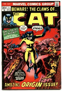 Cat, The #1 First Appearance Greer Grant/Tigra Marvel Key vf-