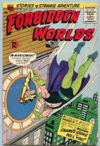 Forbidden Worlds 134 Apr 1966 VG (4.0)