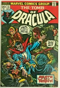 TOMB OF DRACULA#13 FN/VF 1973 ORIGIN OF BLADE MARVEL BRONZE AGE COMICS