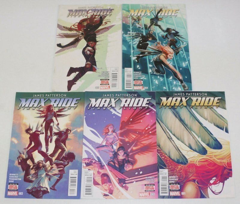 James Patterson's Max Ride: First Flight #1-5 VF/NM complete series - marvel set