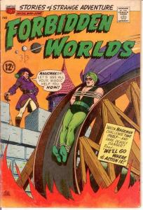 FORBIDDEN WORLDS 135 VG-   May-Jun. 1966 COMICS BOOK