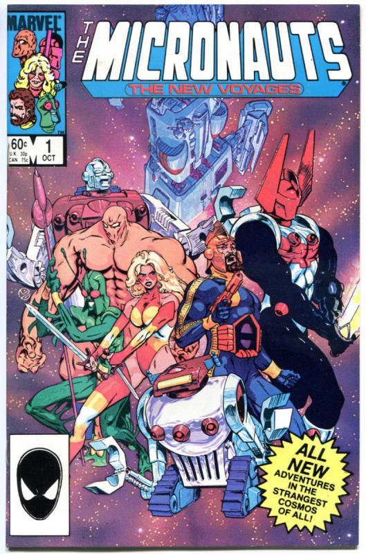 MICRONAUTS New Voyages #1 2 3 4 5 6 7 8 9 10 11 12-20, VF/NM to NM-, 1984, 1-20