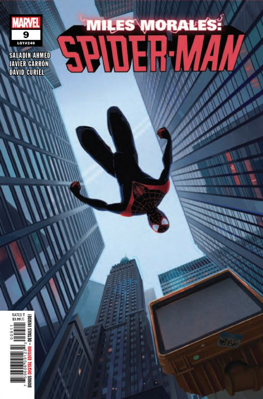 Miles Morales Spider-Man #9 (Marvel, 2019) NM