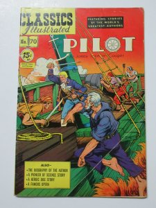 Classics Illustrated- 70 Pilot by James Fenimore Cooper HRN 92 2nd Ed. Apr 1950