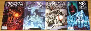 30 Days of Night: 30 Days 'til Death #1-4 VF/NM complete series LAPHAM set 2 3