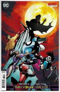 Teen Titans #35 Garbett DCeased Variant Cvr (DC, 2019) NM