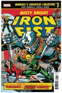 True Believers Iron Fist Misty Knight #1 Reprints Marvel Premiere #23 (2019) NM