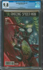 Amazing Spider-Man #28 CGC Graded 9.8 Norman Osborn & Silver Sable appearance