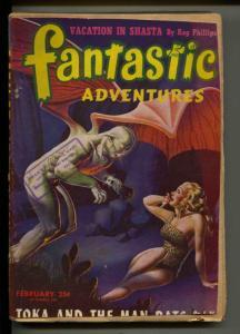 Fantastic Adventures-Pulp-2/1946-J. W. Pelkie-Richard Casey